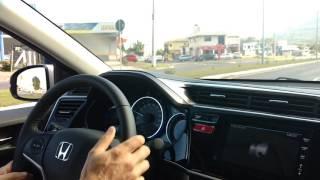 Teste drive Honda city 2017 para PCD. Acompanham