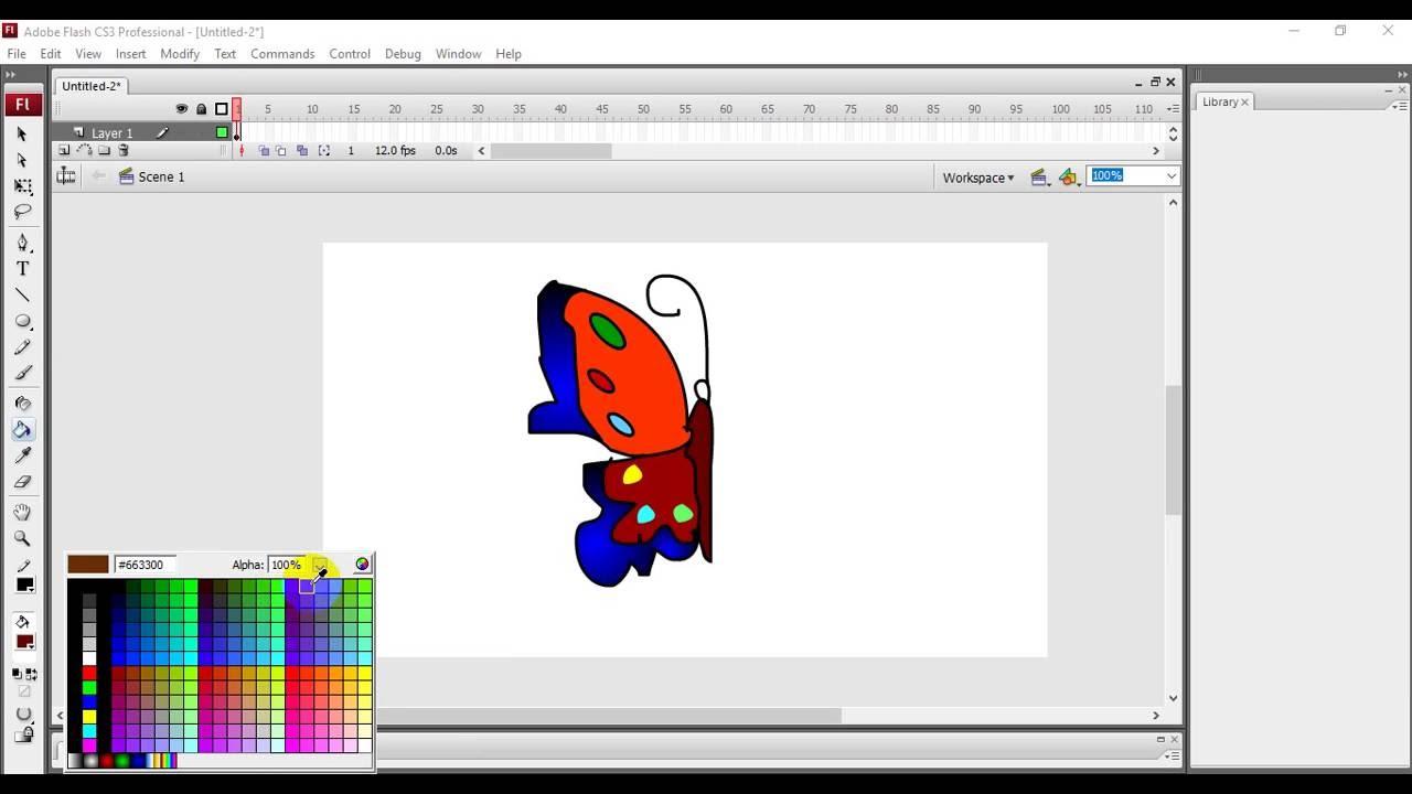 Adobe flash cs6 tutorial: basic animation (bone tool) free tutorial.