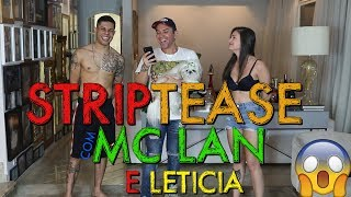 STRIPTEASE COM MC LAN | #HottelMazzafera