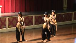 "The Charming Chattes in ""Charming Hats""-1st Place Bellydance Freestyle@World Dance Championship 2012"