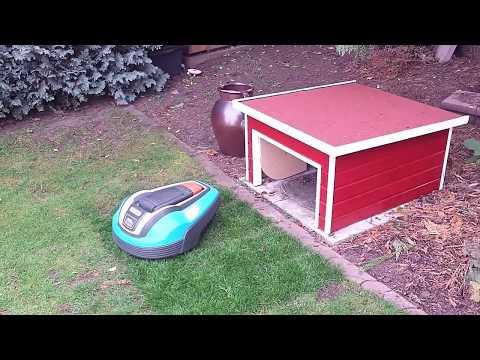 Gardena mähroboter haus