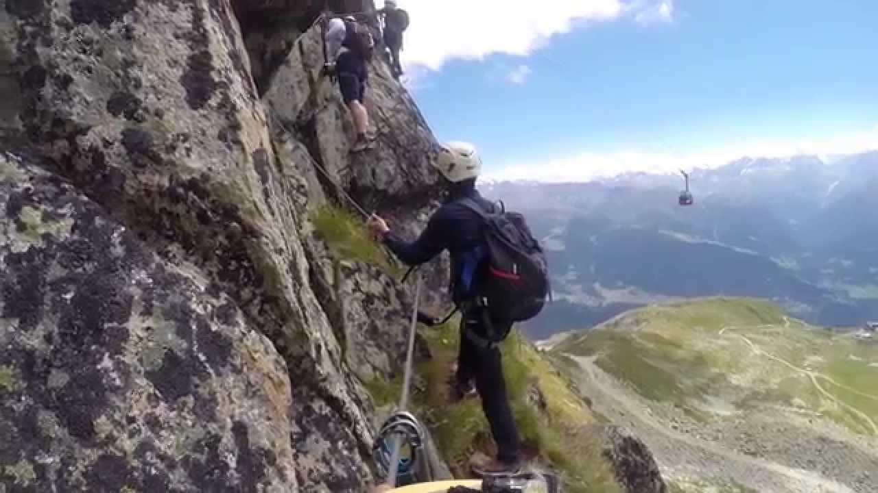 Klettersteig Eggishorn : Klettersteig eggishorn youtube