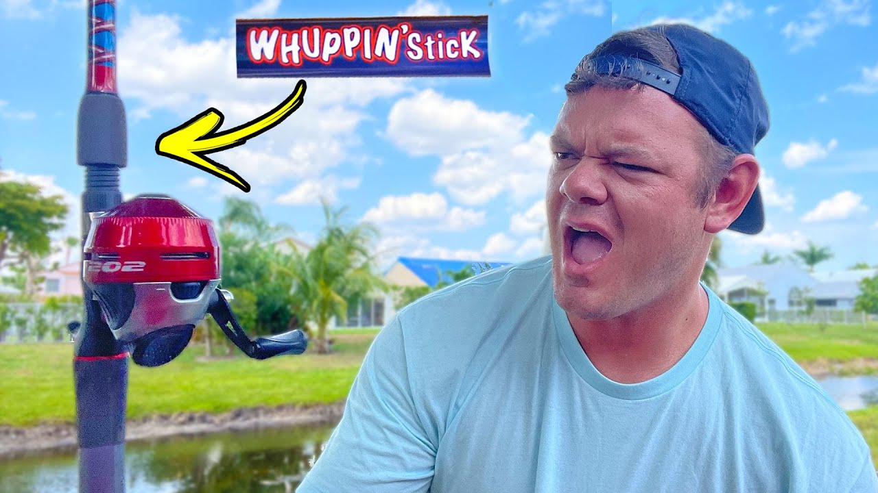 Fishing the WORST Rod & Reel Combo from Bass Pro!