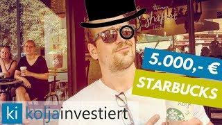 5.000 € in STARBUCKS Aktien investiert! Wachstumspotential für Starbucks in Asien