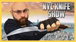Swiftor's visit to the NYC Knife Show!