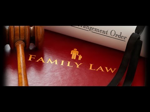 FAMILY LAW - the most joyful occasions require the court's assistance to be made