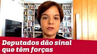 Deputados dão sinal a Bolsonaro de que têm força para votações na Casa | #VeraMagalhães