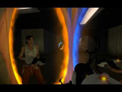 PORTAL 2 Trying hard seeing Chell's face