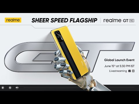 realme GT   Global Launch Event