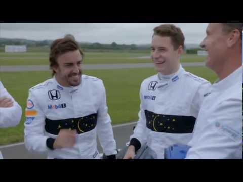 Channel 4 F1 2016: McLaren Kart Racing