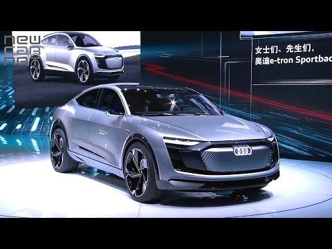 NEWCARNET - Audi debuts e-tron Sportback concept in Shanghai