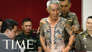 Viral Tattoo Photos Lead To Arrest Of Fugitive Yakuza Member, Thai Police Say | TIME