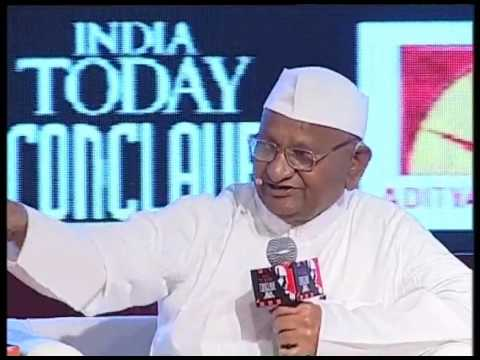 India Today Conclave: Anna Hazare Session