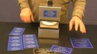 Metal Nameplates, Signs, Labels, Tags, You Make In Minutes!