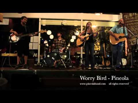 Pineola - Worry Bird - Enlighten Cafe Aug 2012