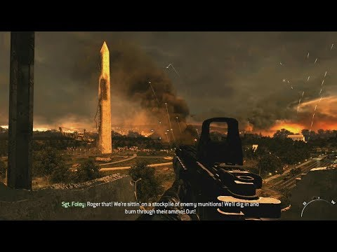 Sudden Russian Attack on Washington ! World War 3 in Call of Duty Modern Warfare 2