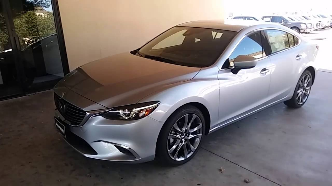 sporty sophisticated 2017 mazda 6 review youtube. Black Bedroom Furniture Sets. Home Design Ideas