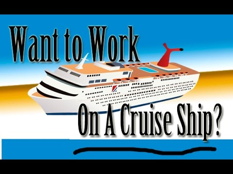 Want To Work On A Cruise Ship? Ep.1 : Ask Yourself These Questions