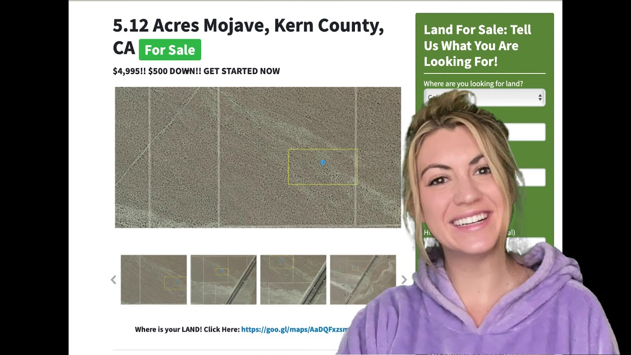 5.12 Acres Mojave Property in Kern County, CA