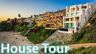 TOURING $10,250,000 Modern Farmhouse in NEWPORT BEACH, CALIFORNIA