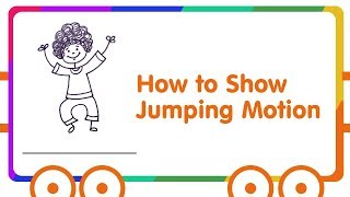 Gesture Drawing for Kids - Kids Jumping Drawing