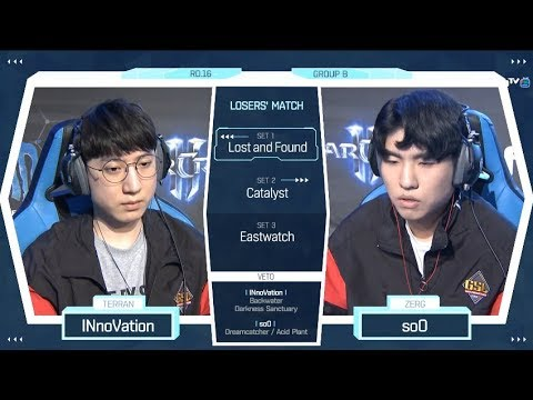 [2018 GSL Season 2] Code S Ro.16 Group B Match4 soO vs INnoV