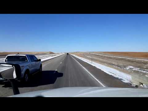 BigRigTravels LIVE! Colby, Kansas to Bennett, Colorado Interstate 70 West-Feb. 13, 2018