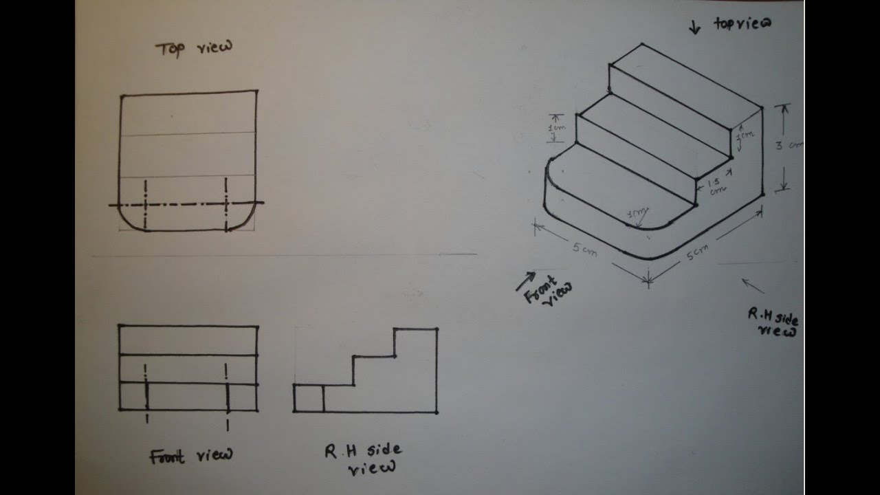 Isometric drawing 2