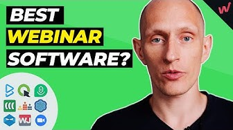 Best Webinar Software: Massive Roundup Review!