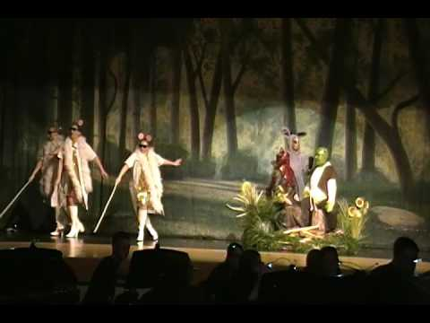 Make a Move and When Words Fail from Shrek the Musical at GAHS 2014