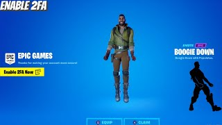 How To ENABLE 2FA FORTNITE (EASY METHOD)