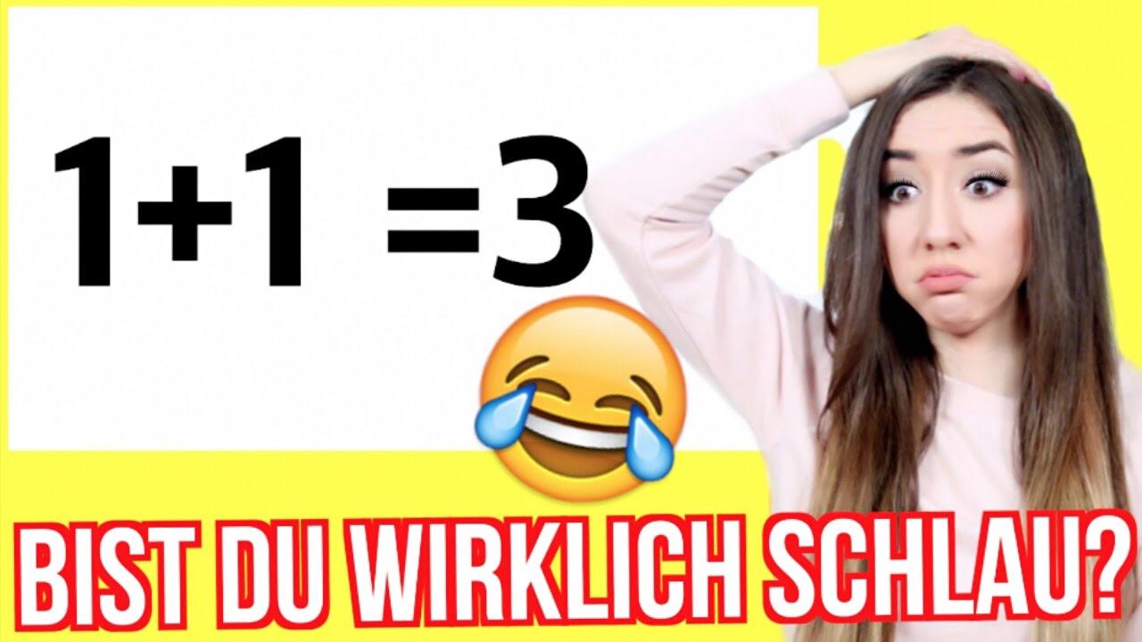Bist Du Wirklich Schlau 61 Fail Der Einstein Test Youtube