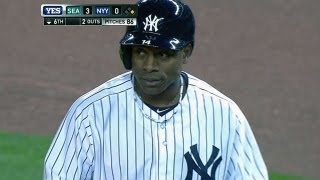 SEA@NYY: Grandy makes 2013 debut after spring injury