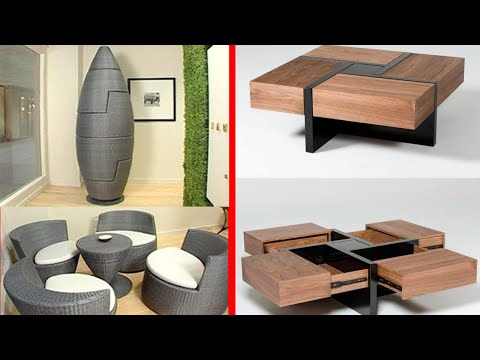 Amazing Expandable Tables  - Space Saving Furniture Ideas With Genius Designs