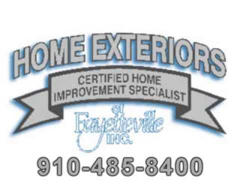 General contractor fayetteville nc home exteriors of fayetteville inc youtube for Home exteriors fayetteville nc