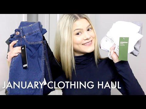 January Clothing Haul