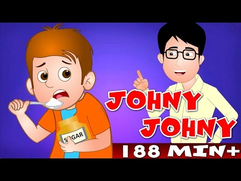 Johny Johny Yes Papa and Many More   Top 100 Popular Nursery Rhyme Collection