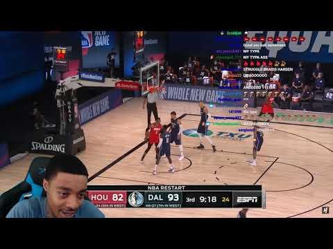 FlightReacts Houston Rockets vs Dallas Mavericks - Full Game Highlights   July 31, 2020!