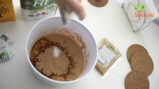 Шоколадный пудиг из тофу