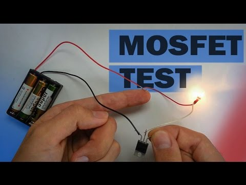 free electronic circuit diagram dayton latching relay wiring how mosfet transistor works | what it can do to test - youtube