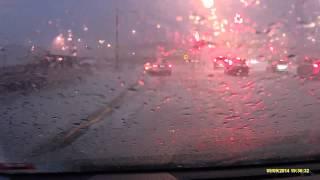 Super Hail Storm Cell, Ringwood - 9/9/2014
