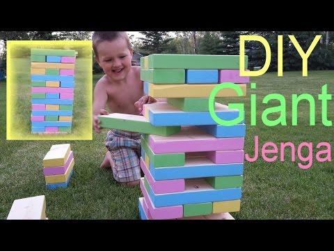 Diy Giant Jenga Game
