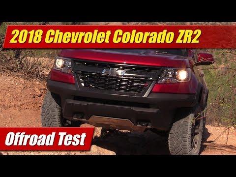 2018 Chevrolet Colorado ZR2: Offroad Test