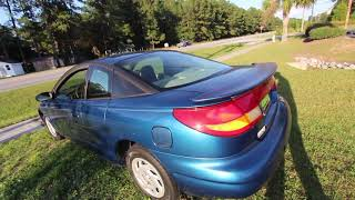 Have you ever seen a SATURN SC1 Coupe ? ( ONLY $1250 CASH ) 18 YEARS LATER REVIEW