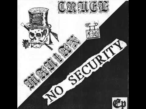 Cruel Maniax / No Security - EP