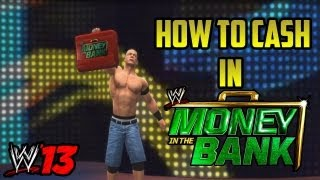 HOW TO CASH IN MONEY IN THE BANK (WWE