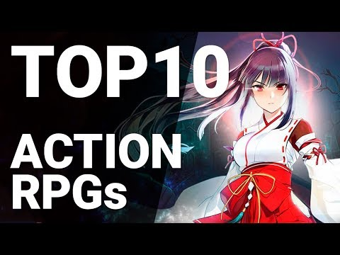 Top 10 Action RPGs For Android 2019 [1080p/60fps]