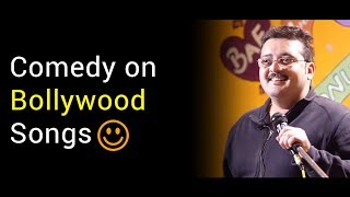 StandUp Comedy on Bollywood Songs by Rohit Sharma at Nojot Open Mic |Bollywood Songs Comedy Version