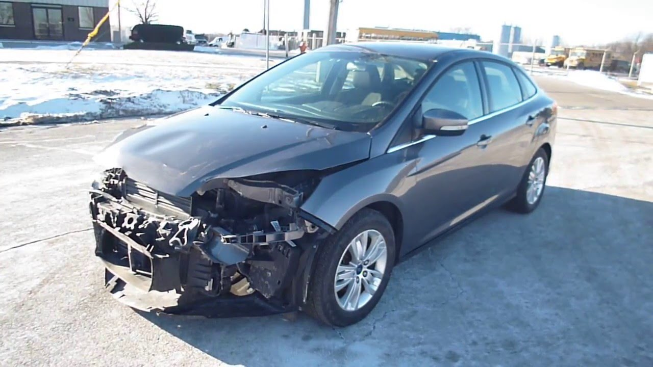 2012 Ford Focus SEL 43K miles DRIVES repairable salvage car for sale ...