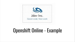 Openshift Online - Deploy a Java Web App